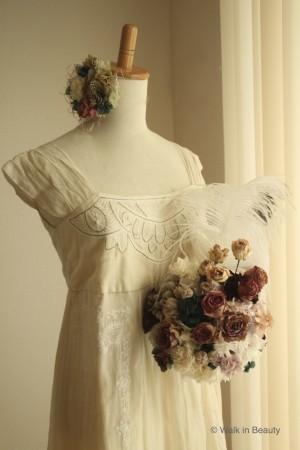 ドレス&SHY FLOWER©